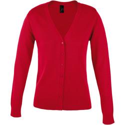 tekstylia Damskie Swetry rozpinane / Kardigany Sols GOLDEN ELEGANT WOMEN Rojo
