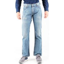 tekstylia Męskie Jeansy straight leg Wrangler Jeansy  Dayton W179EB497 niebieski
