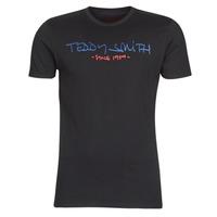 tekstylia Męskie T-shirty z krótkim rękawem Teddy Smith TICLASS Czarny