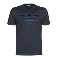 tekstylia Męskie T-shirty z krótkim rękawem Emporio Armani DOUNIA Marine