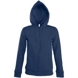 tekstylia Damskie Bluzy dresowe Sols SEVEN KANGAROO WOMEN Azul
