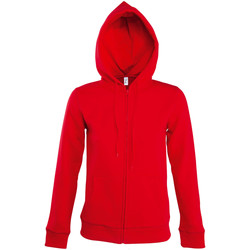 tekstylia Damskie Bluzy dresowe Sols SEVEN KANGAROO WOMEN Rojo