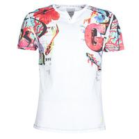 tekstylia Męskie T-shirty z krótkim rękawem Desigual LIAN Wielokolorowy