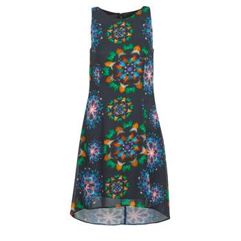 tekstylia Damskie Sukienki krótkie Desigual CLAIR Wielokolorowy