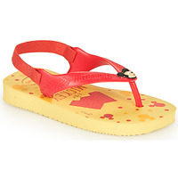 Buty Chłopiec Japonki Havaianas BABY DISNEY CLASSICS II Yellow / Czerwony