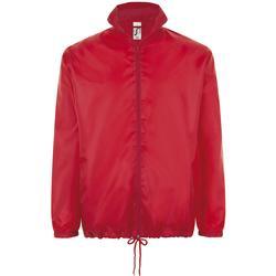 tekstylia Kurtki wiatrówki Sols SHIFT HIDRO SPORT Rojo
