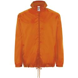 tekstylia Kurtki wiatrówki Sols SHIFT HIDRO SPORT Naranja