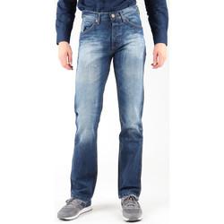 tekstylia Męskie Jeansy straight leg Wrangler Jeansy  Ace W14RD421X niebieski