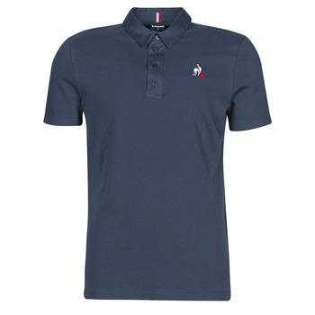 tekstylia Męskie Koszulki polo z krótkim rękawem Le Coq Sportif ESS POLO SS N°2 M Niebieski