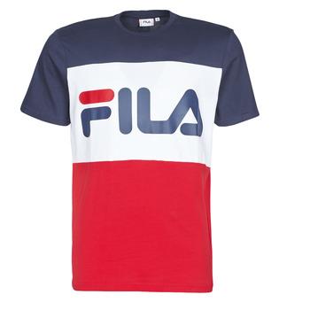 tekstylia Męskie T-shirty z krótkim rękawem Fila DAY Marine / Czerwony / Biały