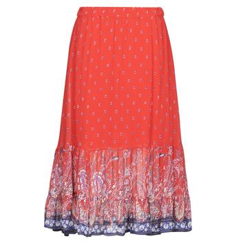 tekstylia Damskie Spódnice Cream NALITA Czerwony