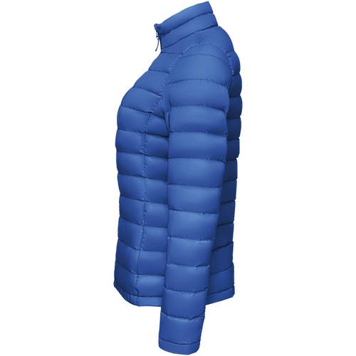 Sols Wilson Padded Women Azul - Bezpłatna Dostawa- Tekstylia Kurtki Pikowane Damskie 37464 Najniższa Cena