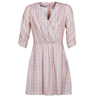 tekstylia Damskie Sukienki krótkie Kaporal BABE Różowy