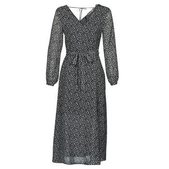 tekstylia Damskie Sukienki długie Ikks BQ30085-03 Czarny