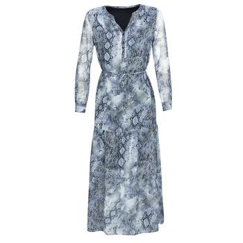 tekstylia Damskie Sukienki długie Ikks BQ30285-44 Niebieski