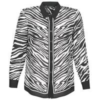 tekstylia Damskie Koszule Ikks BQ12105-03 Czarny / Biały