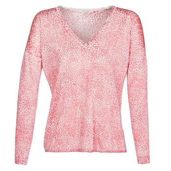 tekstylia Damskie Swetry Ikks BQ18115-36 Różowy