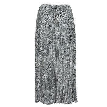 tekstylia Damskie Spódnice Ikks BQ27075-30 Czarny / Biały