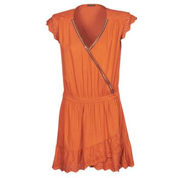 tekstylia Damskie Sukienki krótkie Ikks BQ30155-75 Pomarańczowy