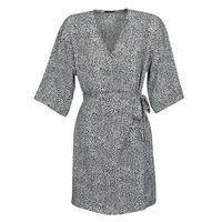 tekstylia Damskie Sukienki krótkie Ikks BQ30415-03 Czarny / Biały