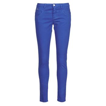tekstylia Damskie Spodnie z pięcioma kieszeniami One Step LE JUDY Niebieski