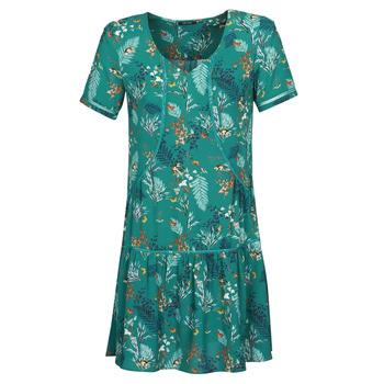 tekstylia Damskie Sukienki krótkie One Step RENATO Zielony
