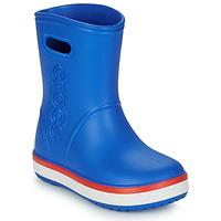 Buty Dziecko Kalosze Crocs Crocband Rain Boot K Niebieski / Czerwony
