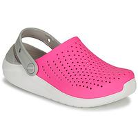 Buty Dziewczynka Chodaki Crocs LITERIDE CLOG K Różowy / Biały