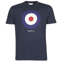 tekstylia Męskie T-shirty z krótkim rękawem Ben Sherman SIGNATURE TARGET TEE Marine