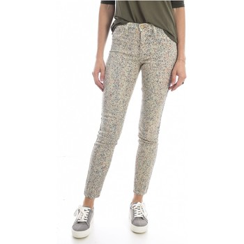 tekstylia Damskie Jeansy slim fit Mih THE BONN WJ1557POL Beżowy