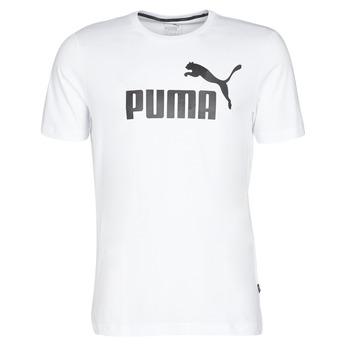 tekstylia Męskie T-shirty z krótkim rękawem Puma ESSENTIAL TEE Biały