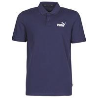 tekstylia Męskie Koszulki polo z krótkim rękawem Puma PIQUE POLO Marine