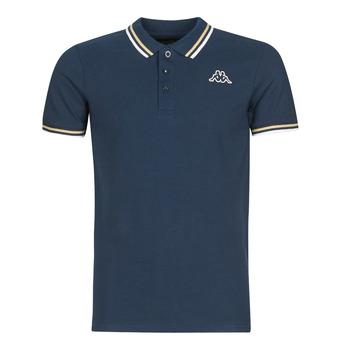 tekstylia Męskie Koszulki polo z krótkim rękawem Kappa ESMO Niebieski
