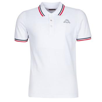 tekstylia Męskie Koszulki polo z krótkim rękawem Kappa ESMO Biały