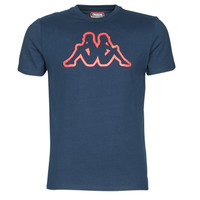 tekstylia Męskie T-shirty z krótkim rękawem Kappa CROMEN SLIM Niebieski