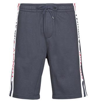 tekstylia Męskie Szorty i Bermudy Tommy Jeans TJM BRANDED TAPE SHORT Marine
