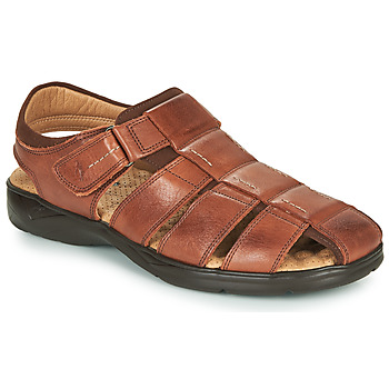 Buty Męskie Sandały Fluchos DOZER Brązowy