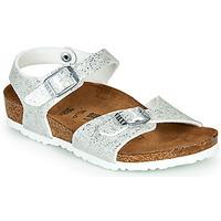 Buty Dziewczynka Sandały Birkenstock RIO Silver