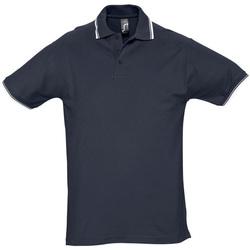 tekstylia Męskie Koszulki polo z krótkim rękawem Sols PRACTICE GOLF SPORT Azul