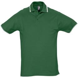 tekstylia Męskie Koszulki polo z krótkim rękawem Sols PRACTICE GOLF SPORT Verde