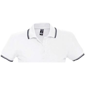 tekstylia Damskie Koszulki polo z krótkim rękawem Sols PRACTICE GOLF SPORT Blanco