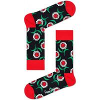 Dodatki Męskie Skarpety Happy Socks Sunflower sock Wielokolorowy