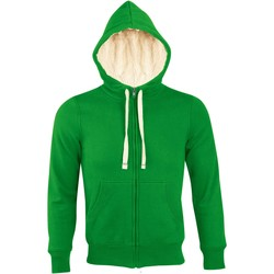 tekstylia Męskie Bluzy Sols SHERPA WINTER MEN Verde