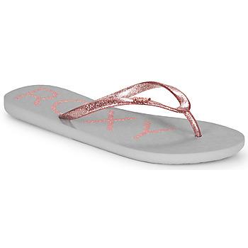 Buty Damskie Japonki Roxy VIVA SPARKLE Szary / Różowy