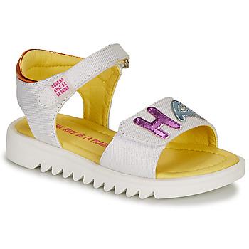 Buty Dziewczynka Sandały Agatha Ruiz de la Prada SMILES Biały