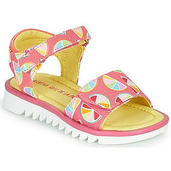 Buty Dziewczynka Sandały Agatha Ruiz de la Prada SMILES Różowy / Wielokolorowe