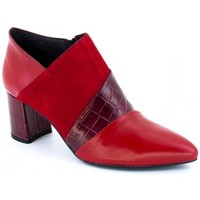 Buty Damskie Low boots Laura Amat 2413 Rouge