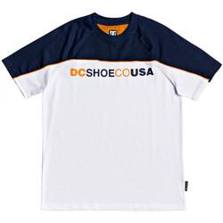 tekstylia Męskie T-shirty z krótkim rękawem DC Shoes Brookledge ss Biały