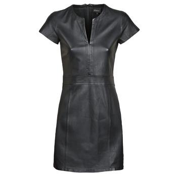tekstylia Damskie Sukienki krótkie Oakwood PLEASE Czarny