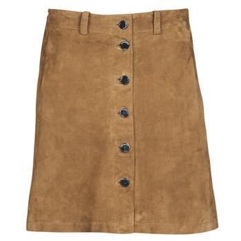 tekstylia Damskie Spódnice Oakwood KEREN Cognac